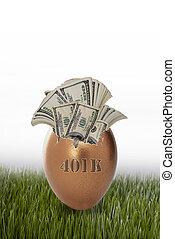 401 K Golden Egg.