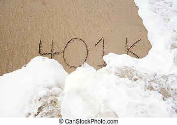 401k in the sand