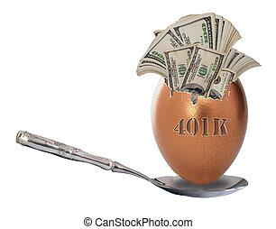 401K investment.