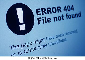 404, 間違い
