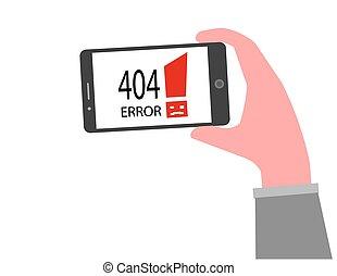 404, concept, erreur