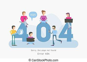 404 error concept