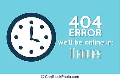 404 error design, vector illustration eps10 graphic