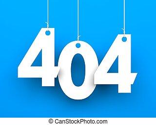 404, error., página, não, encontrado