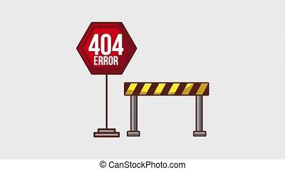 404 error page animation hd