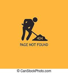 404 Error Page Illustration