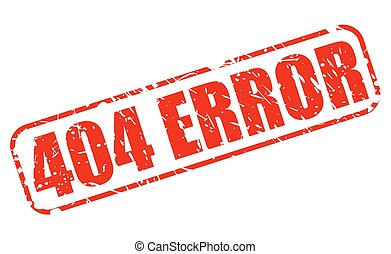 404 error red stamp text