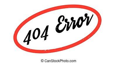 404 Error rubber stamp. Grunge design with dust scratches....