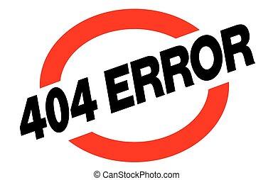 404 error sticker