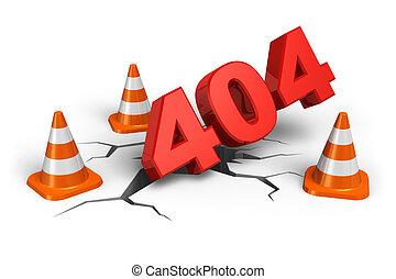 404, webpage, fehler, begriff