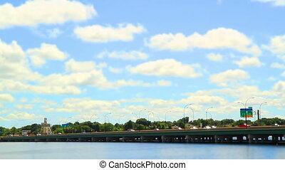 408 Orlando Bridge Time Lapse Tilt