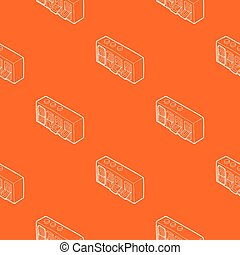 420 on analog flip clock pattern vector orange for any web design best