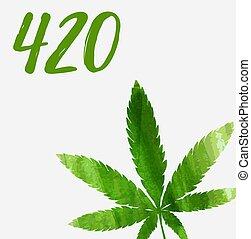 420, vacanza, giorno