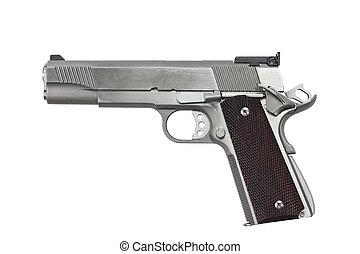 45, pistola, calibre