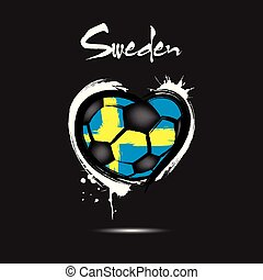 4529 - Denmark heart soccer