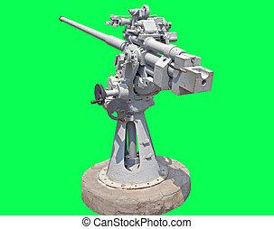 45mm, soviétique, naval, fusil