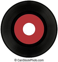 45rpm, תקליט של וייניל, גזירית
