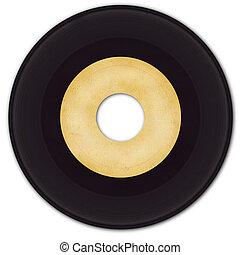 45rpm, vinyl zapisovat