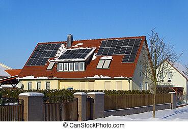46, planta, solar