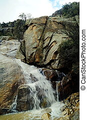 [47]Carr Falls - Carr Canyon Waterfalls. It only flows when ...