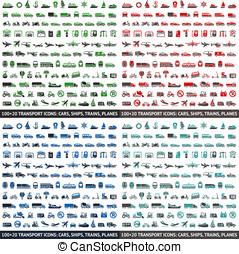 480 Transport icons