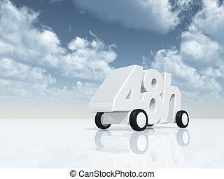 48h on wheels