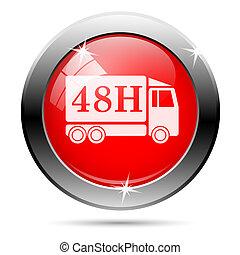 48h truck icon