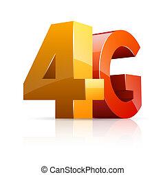 4g, icon.