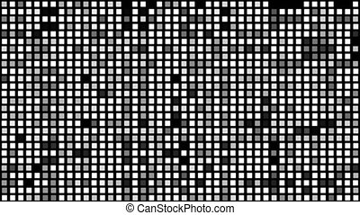 4K Abstract background Random regtangle lighting  blink