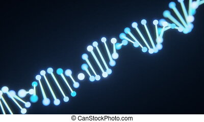 4K Abstract DNA Helix.