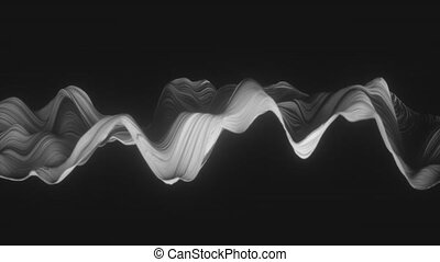4K Abstract Mesh. Seamless loop