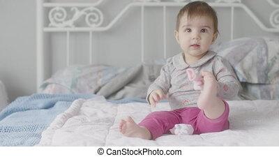 4K Beautiful Baby Girl.