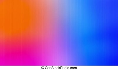 4K Beautiful Gradient Texture Stylish 3D Abstract Loop Animation. Multicolor Liquid Pattern. Purple Blue Wavy Reflection Surface Macro. Trendy Colorful Fluid Abstraction Flow. Color Wavy Smooth Wall.