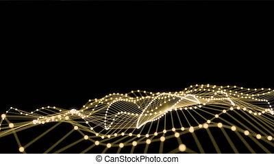 4K Digital Network Grid. Seamless loop