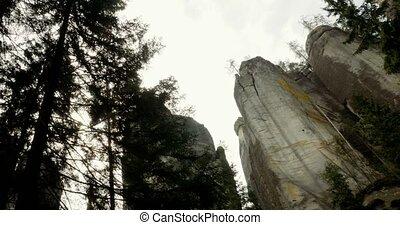 4k, dolní, adršpach-teplice, steinen, tschechische republik