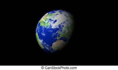 4K Earth Zoom: Dublin %u2013 Ireland