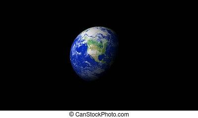 4K Earth Zoom: Houston %u2013 USA