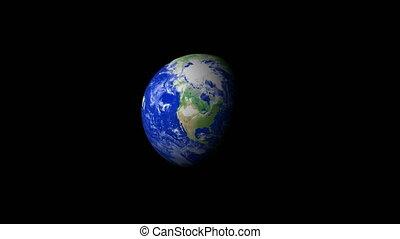 4K Earth Zoom: Minneapolis %u2013 USA