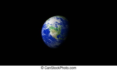 4K Earth Zoom: Nashville %u2013 USA