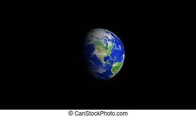 4K Earth Zoom: Phoenix %u2013 USA