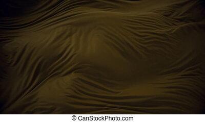 4K Elegant Silk Fluttering in the Wind. 3D CGI Animation.
