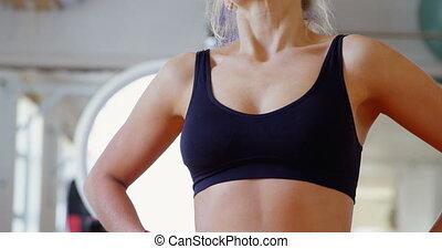 4k, entspannend, studio, weibliche , boxer, fitness