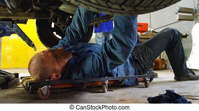 4k, examiner, mécanicien, voiture