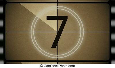 4K Film Leader Top Ten Countdown - This top ten countdown...