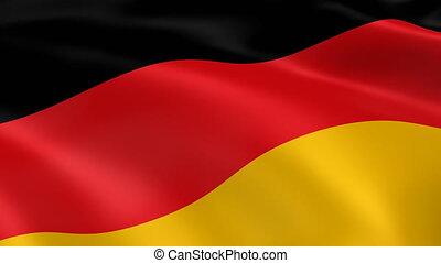 4K Germany Flag