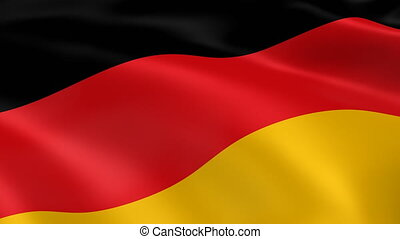 4K Germany Flag