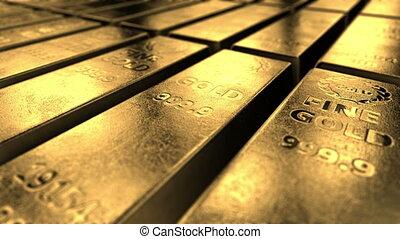 4K gold background