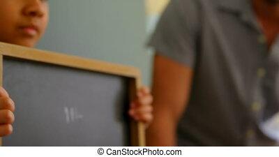 4k, klasa, reputacja, uczeń, szkoła, kreda, klaps