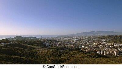 4k, luftaufnahmen, cityscape, malaga