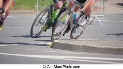 4K - Marathon. Cycling wheels